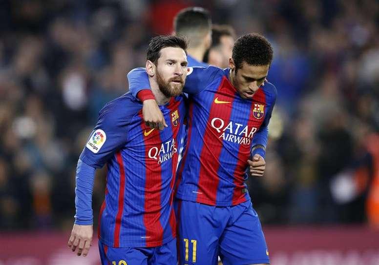 Selon Lionel Messi, Neymar (PSG) a « vraiment hâte de revenir » au FC Barcelone