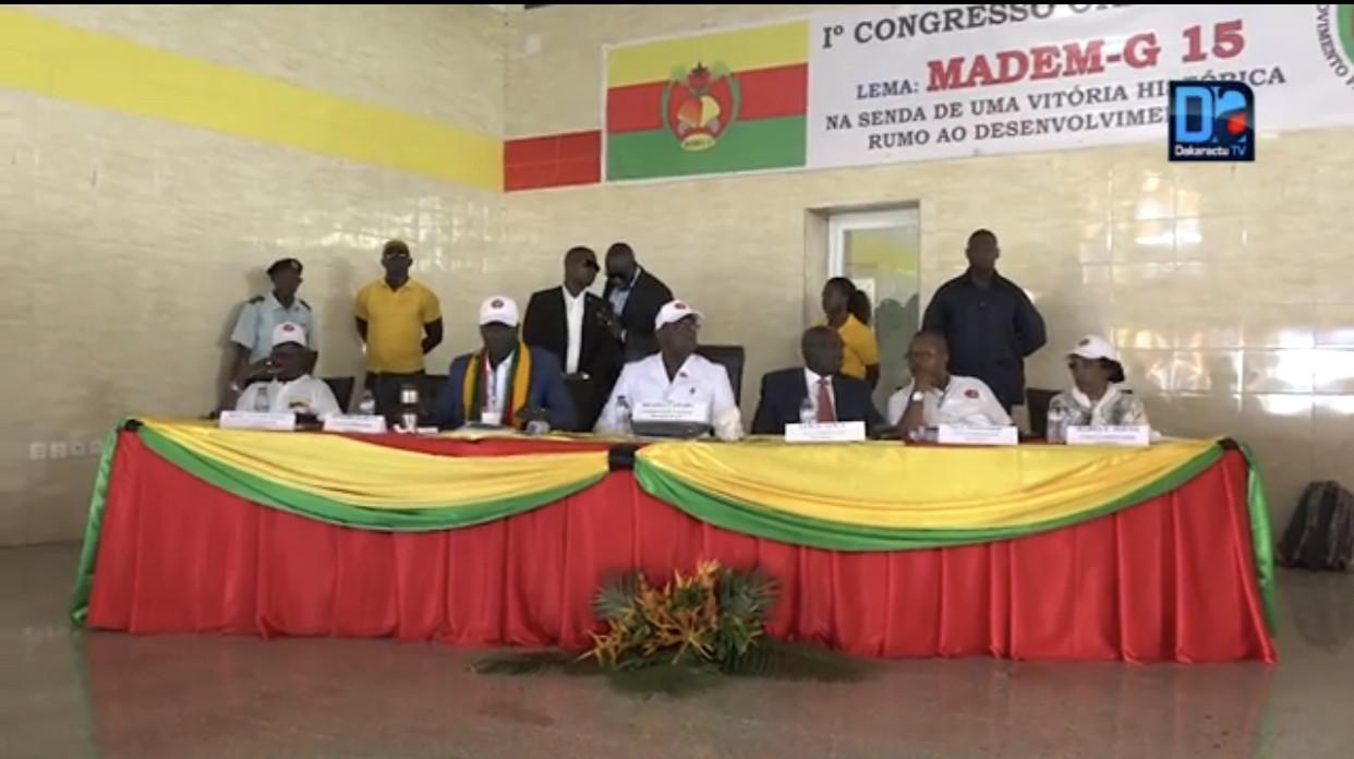 Guinée-Bissau : MADEM-G15 annonce la création d'un comité d'investiture de Umaro Sissoco Embaló