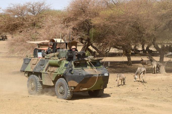 Barkhane mène des opérations dans le centre autour de Mopti