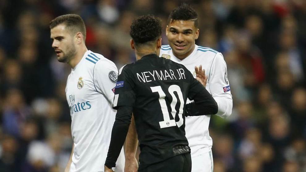 Real Madrid : Casemiro souhaite l'arrivée de Neymar