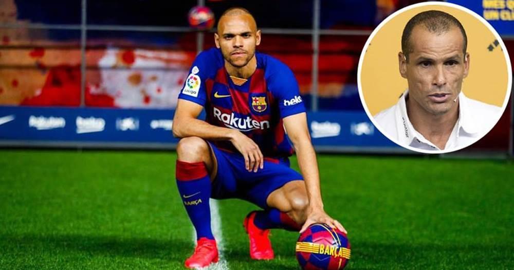 Barça: Rivaldo ne comprend pas le choix Martin Braithwaite