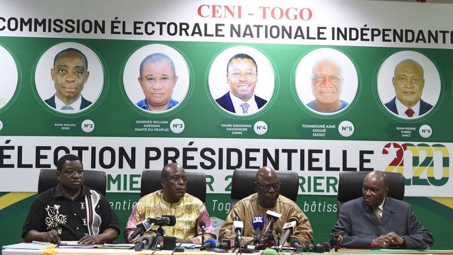 Présidentielle Togo: la CENI annonce la victoire de Faure Gnassingbe