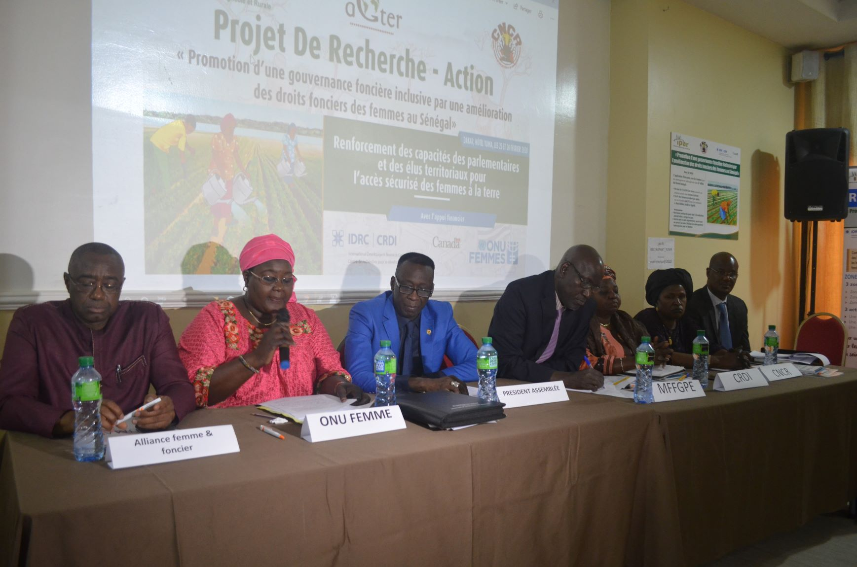Droits fonciers des femmes au Sénégal: l'IPAR et le CNCR en synergie avec ONU Femmes arment des parlementaires pour porter le plaidoyer