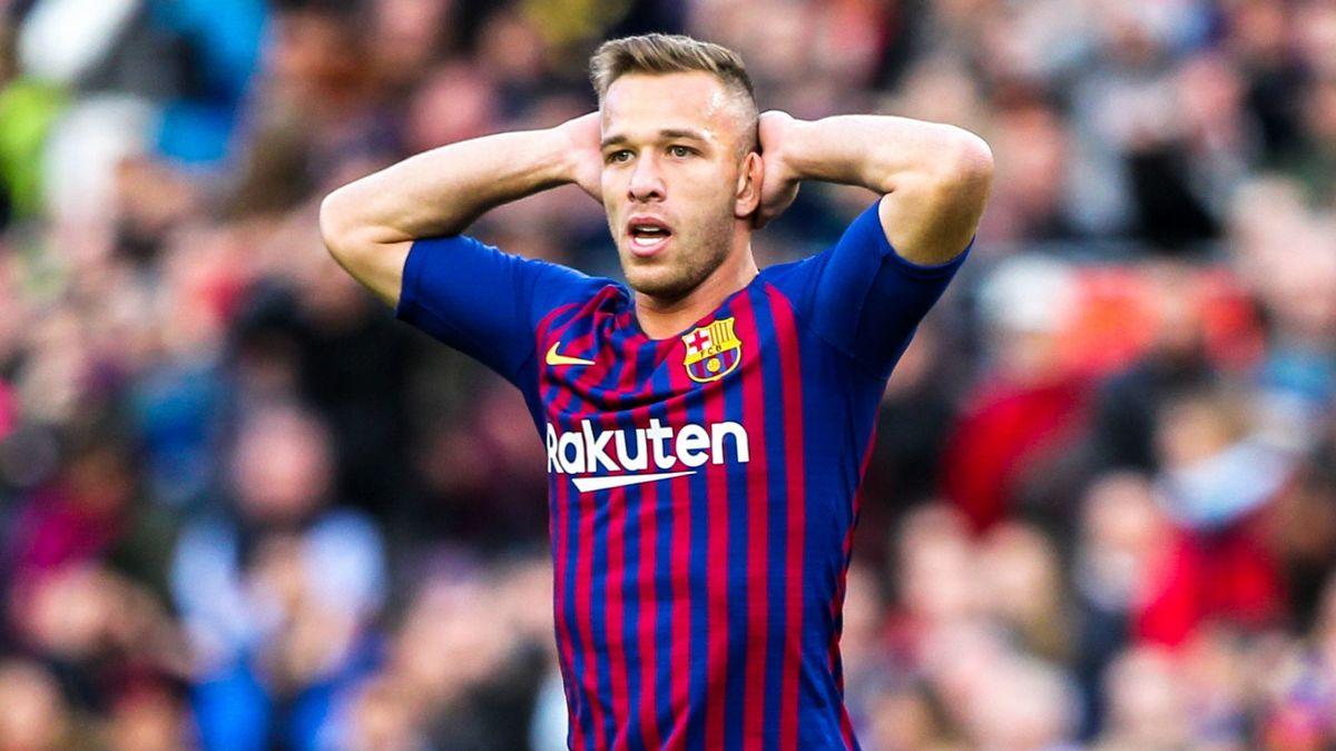 Barça: Arthur incertain pour le match retour contre Naples