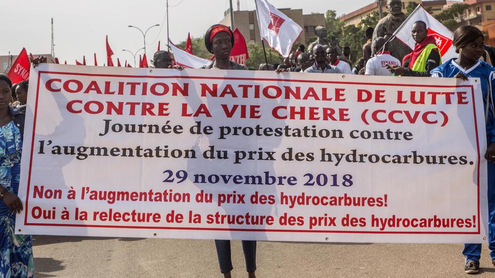Burkina Faso: la colère des travailleurs contre l'élargissement de l'impôt