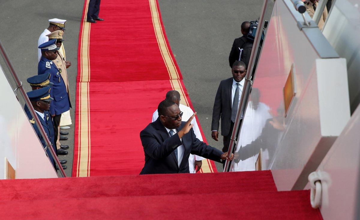 #Coronavirus - Macky pense aux Sénégalais de la diaspora confinés