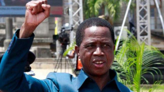 Un adolescent arrêté pour avoir insulté le président zambien