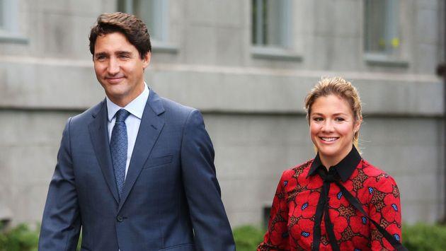Justin Trudeau confiné, son épouse contaminée par le coronavirus