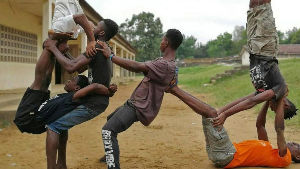 Côte d'Ivoire: la compagnie Ivoire cirque décalé, de la rue à la scène