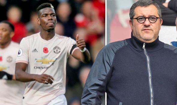 Man United : Mino Raiola évoque le futur de Paul Pogba