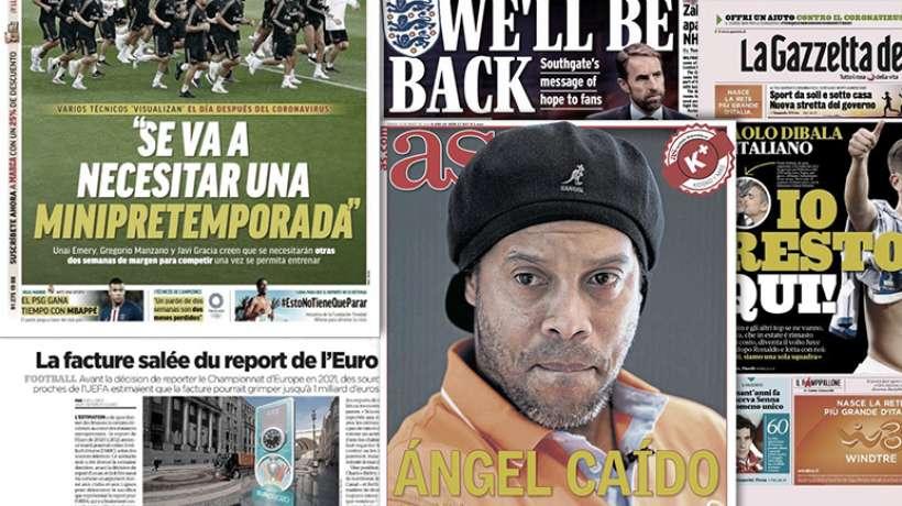 Le PSG gagne du temps avec Kylian Mbappé, Ronaldinho fête ses 40 ans en prison