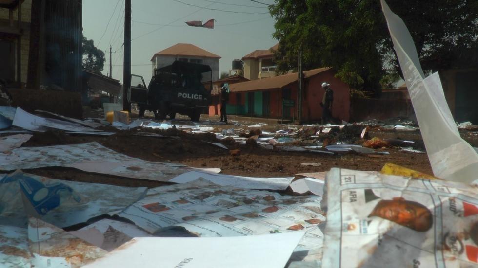 violences électorales en Guinée