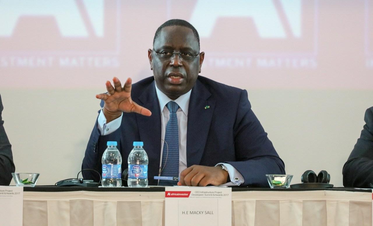"""#Coronavirus au #Sénégal : Macky Sall parle d'une """"limitation ou interdiction au besoin des voyages de région à région"""""""