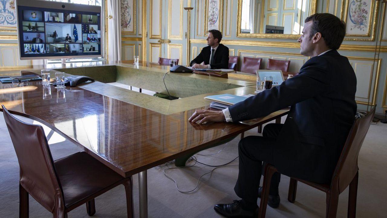 Coronavirus : pour Emmanuel Macron, la survie de l'Europe est en jeu