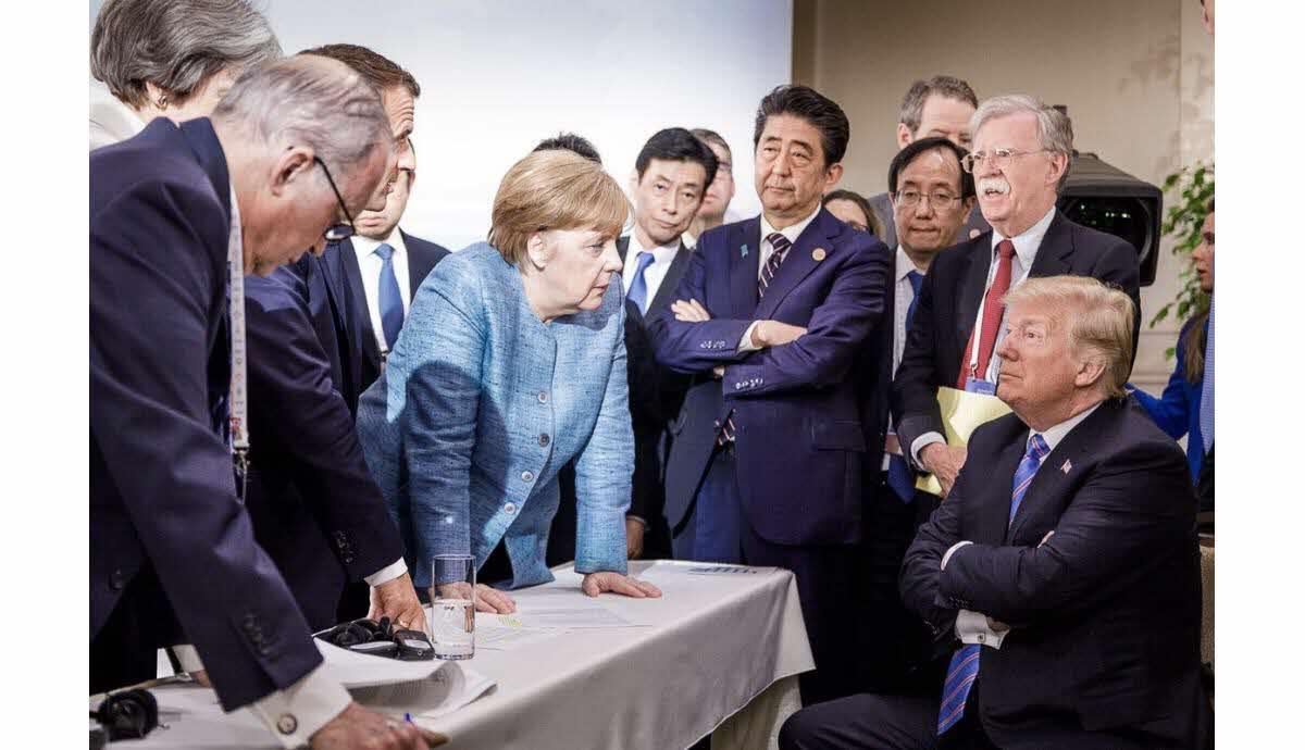 Gestion Covid-19: Macron, Trump, Conte, Sanchez... ravalez votre fierté et appelez la dame Merkel