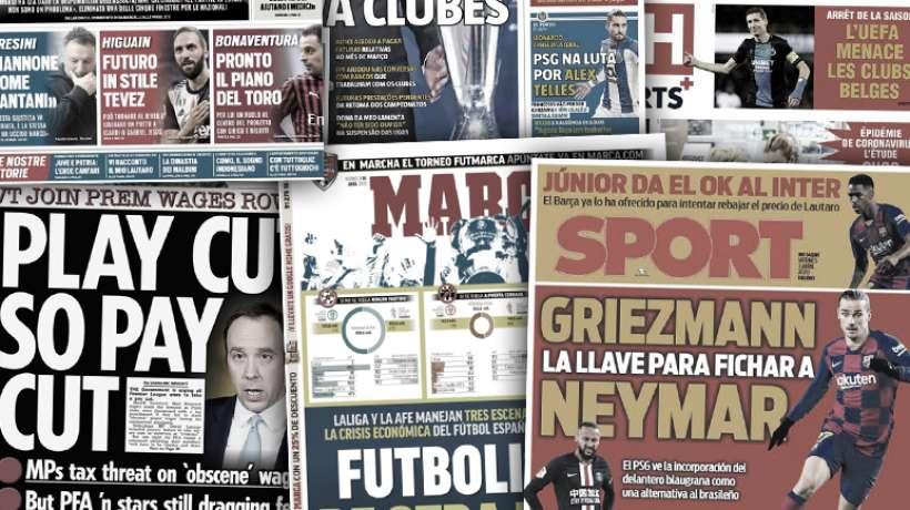 Les 3 scénarios possibles pour sortir de la crise en Espagne, le PSG chaud sur Alex Telles