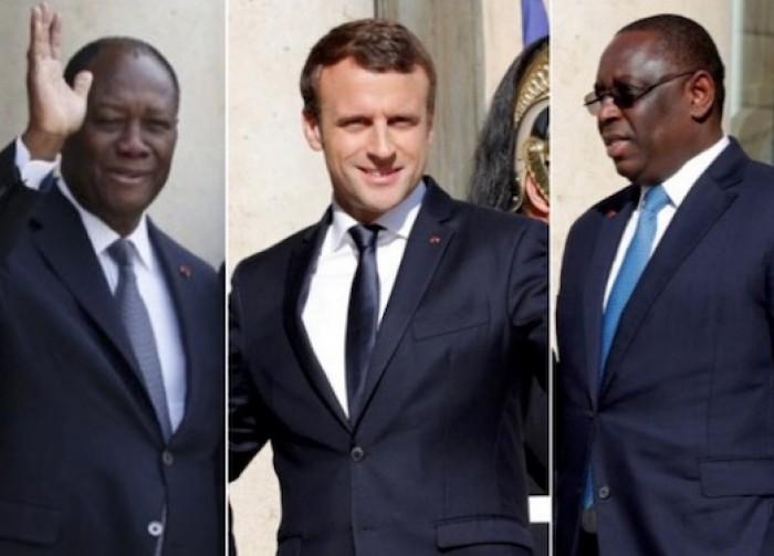 Lutte contre le coronavirus : échanges téléphoniques entre Macky Sall et Ouattara, puis avec Macron