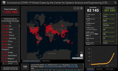 Coronavirus : la situation dans le monde... Le nombre de décès baisse en Espagne, remonte en Italie et s'alourdit aux États-Unis Unis