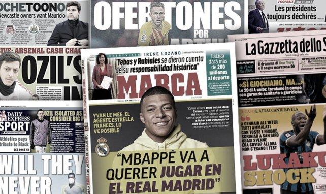 La stratégie inattendue du PSG pour Kylian Mbappé, les révélations de Romelu Lukaku font grand bruit en Italie