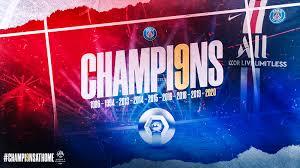 Le PSG dédie son 9ème titre de Champion de France aux personnels soignants et à tous les héros du quotidien