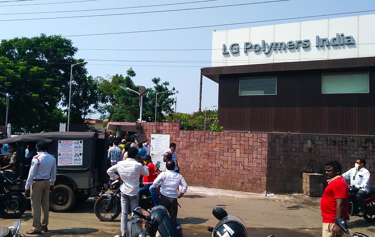 Inde : fuite de gaz meurtrière dans une usine, mille personnes hospitalisées