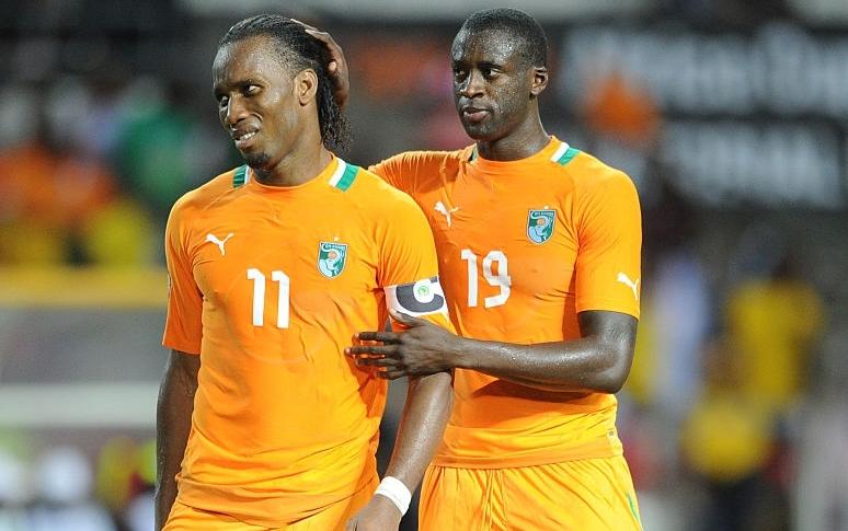 Election à la FIF : Yaya Touré soutient la candidature de Didier Drogba