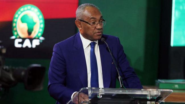 Maintien ou report CAN 2021: le président de la CAF Ahmad Ahmad dans le clair-obscur