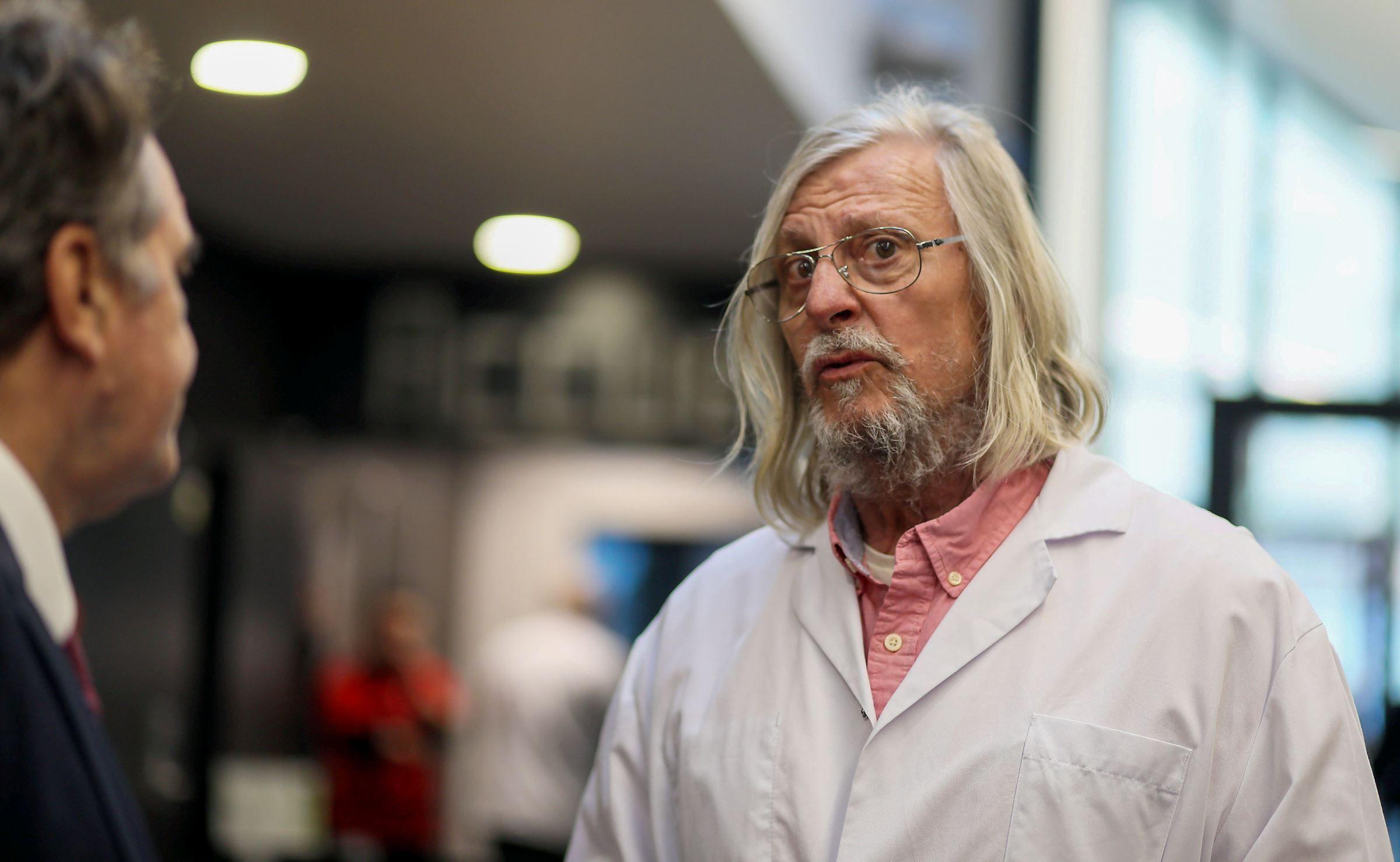 Coronavirus : Didier Raoult assure à nouveau que l'épidémie est en train de disparaître