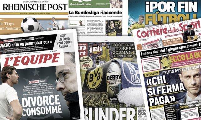 Le retour de la Bundesliga met le monde en ébullition, l'Inter veut frapper fort sur le mercato