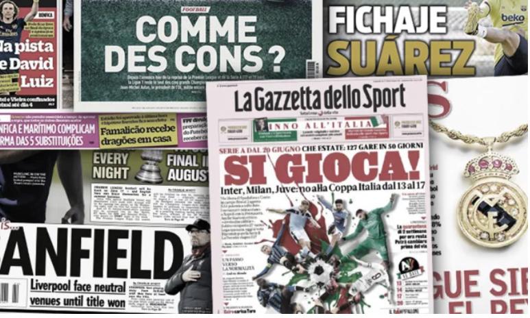 Les géants de Serie A brandissent une sacrée menace pour la reprise, le Barça tient déjà une recrue pour le retour de la Liga