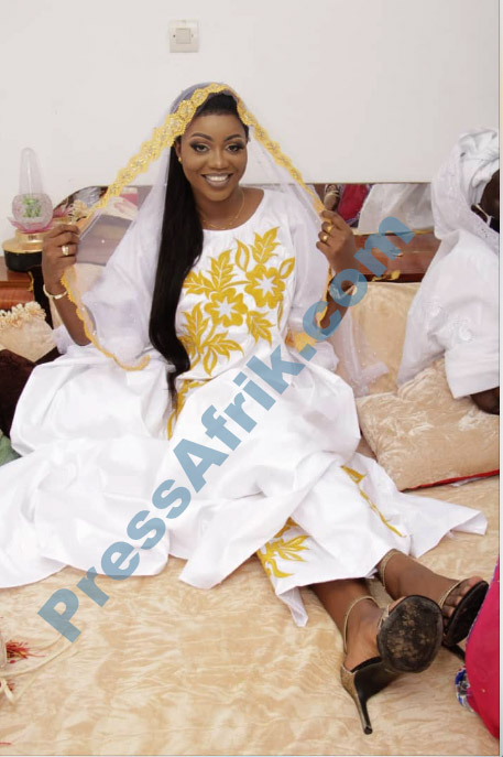 Les images du mariage de Fana Cissé de PressAfrik et de Mor Talla Gaye de Gfm