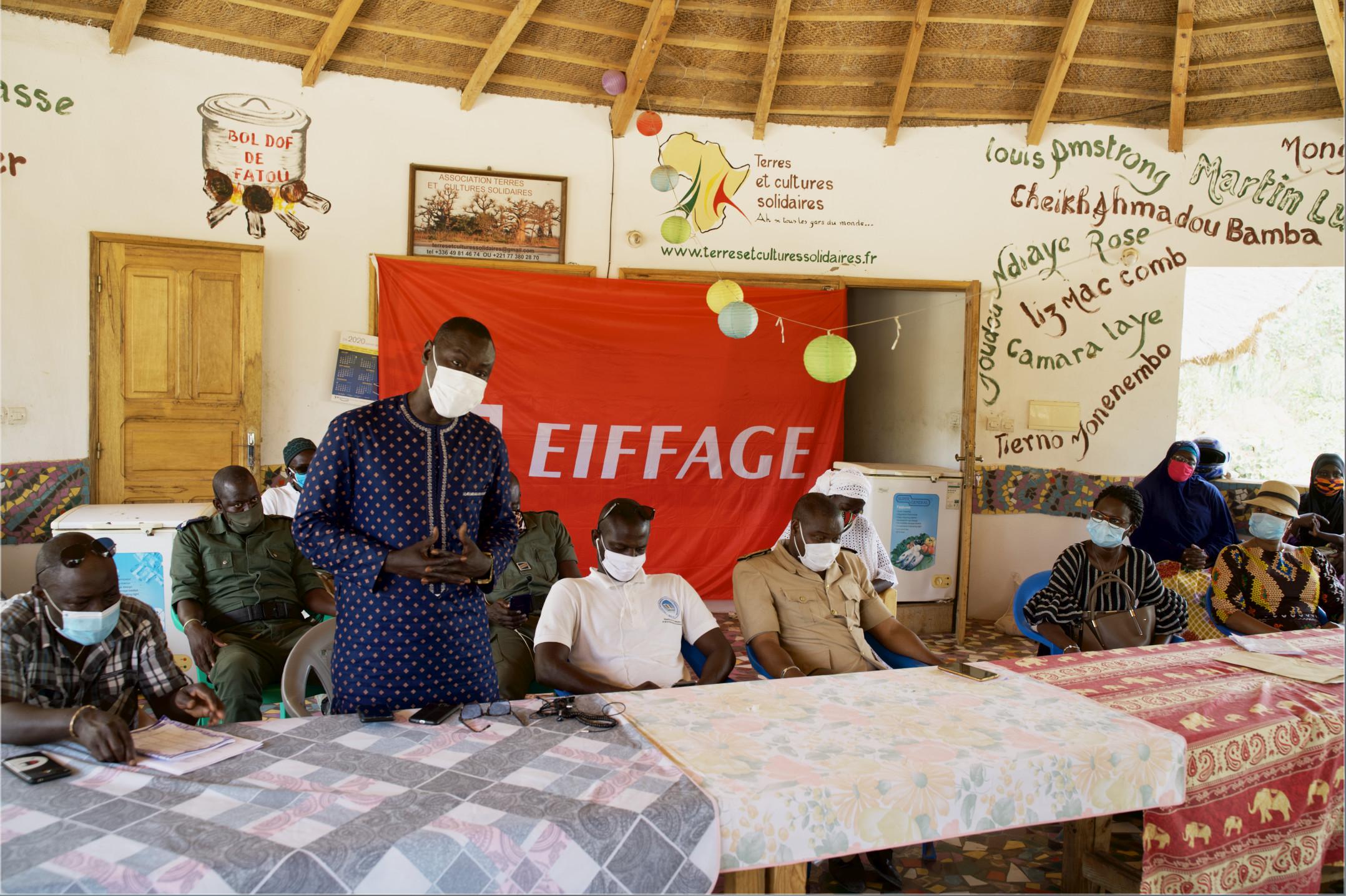 Lutte contre la Covid-19 à Fimela : Eiffage Concessions Sénégal va nourrir 80 familles durant 3 mois à hauteur de 10 millions de F Cfa