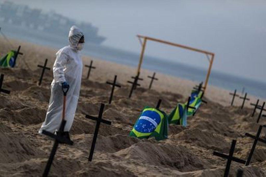 Coronavirus dans le monde, 941 morts aux Etats-Unis et 1239 au brésil en 24h