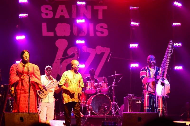 Zappée sur l'aide de 3 milliards, St-Louis interpelle le ministre de la Culture sur son Festival de Jazz