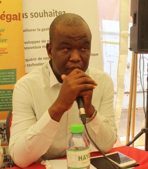 Mamadou Ngawa Dembélé Président du Conseil Communal de la Jeunesse de Ourossogui