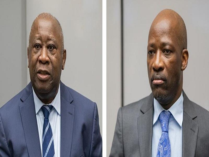 La CPI examine la demande d'un procès en appel contre Laurent Gbagbo et Charles Blé Goudé