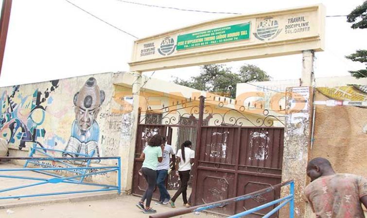 Reprise des cours: l'eau a finalement coulé au Lycée Seydou Nourou Tall