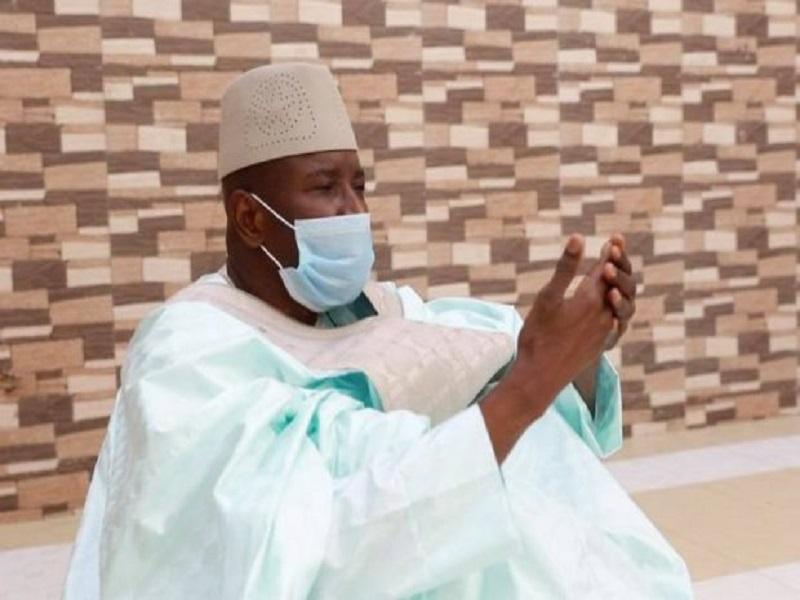 Covid-19 : testé négatif, Aly Ngouille Ndiaye sort de sa quatorzaine