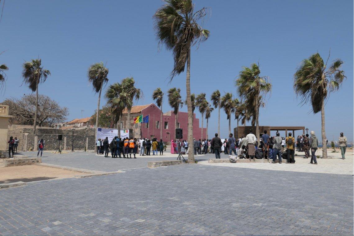 Gorée: La Place de l'Europe devient la Place de la Liberté et de la Dignité humaine