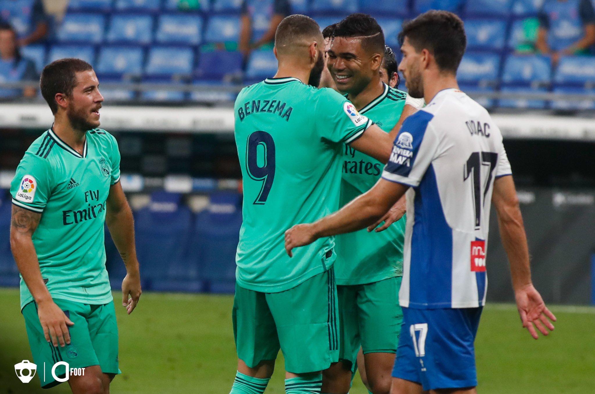 32e journée Liga: le Réal s'impose et devance désormais le Barça de deux points