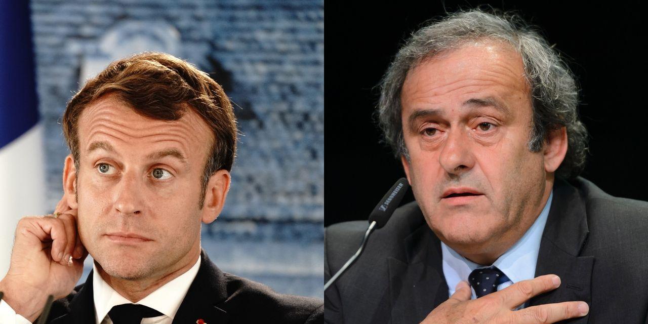 Affaire Platini: des écoutes et un rendez-vous impliquent Emmanuel Macron selon Médiapart