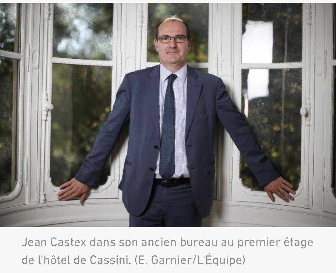 L'ancien « ministre des Jeux » Jean Castex devient Premier Ministre de la France