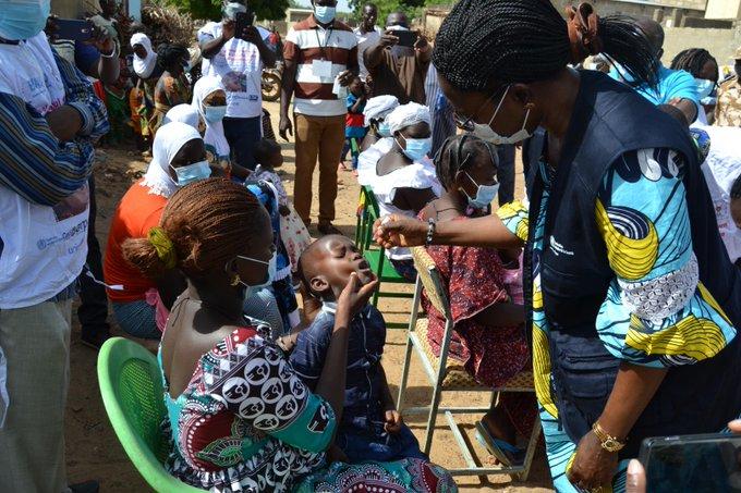 Burkina Fasso: reprise de vaccination contre la Polio avec des règles strictes pour prévenir la Covid-19