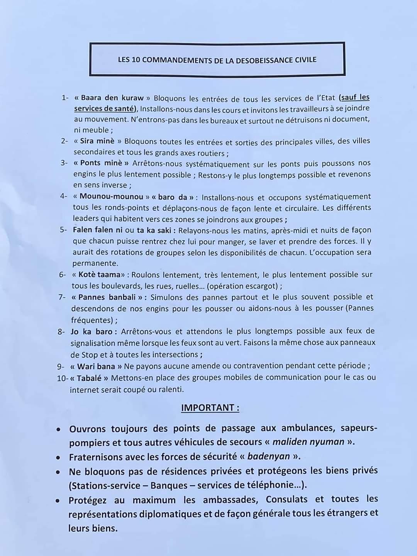 DIRECT - 3e Rassemblement M5 à Bamako: Ça chauffe et les manifestants ont assiégé l'ORTM et saccagé l'Assemblée nationale