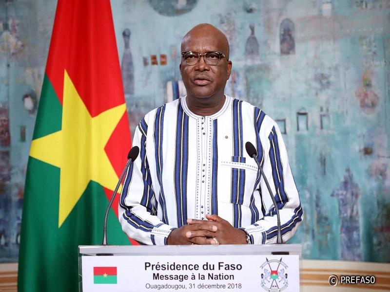 Burkina Faso: le président Kaboré investi candidat à sa succession par le MPP