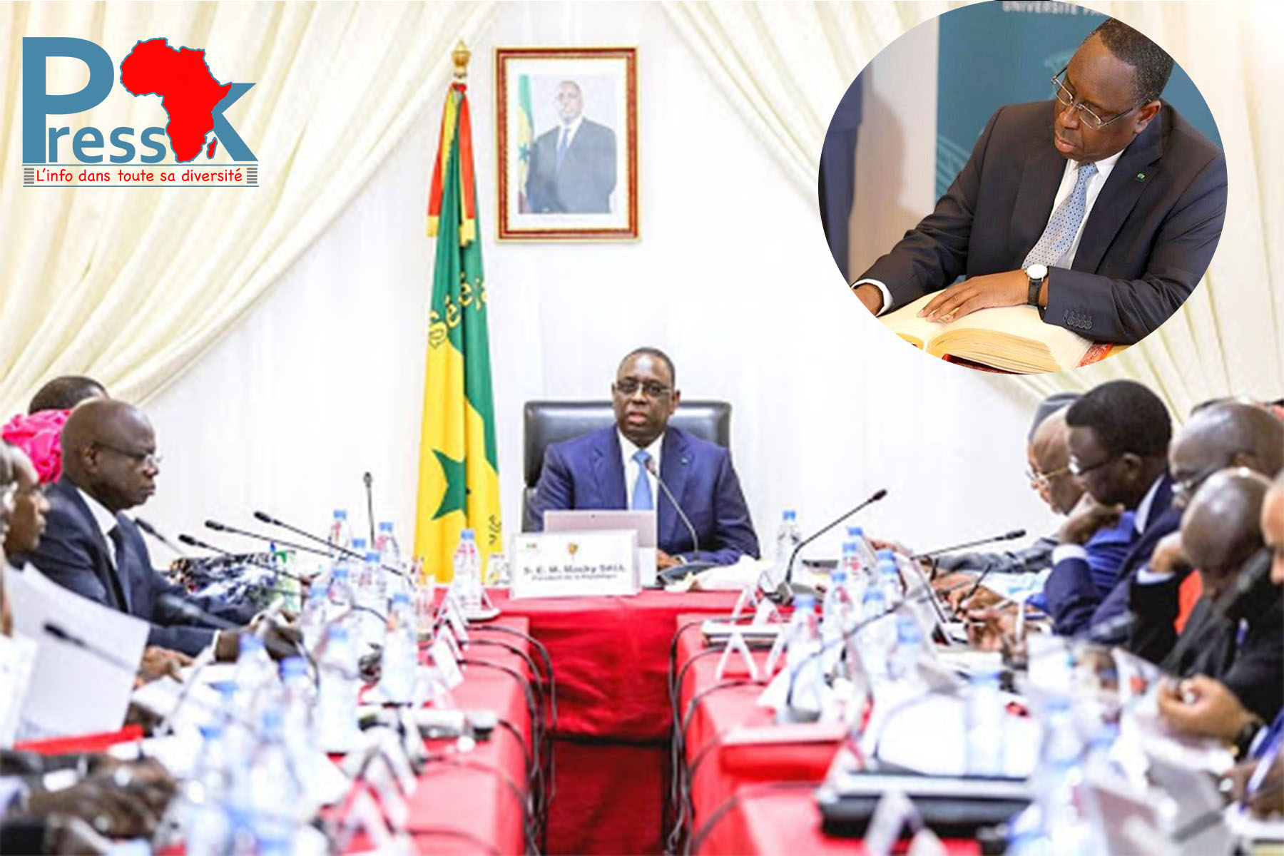 Conseil des ministres : les effets de manche de Macky Sall