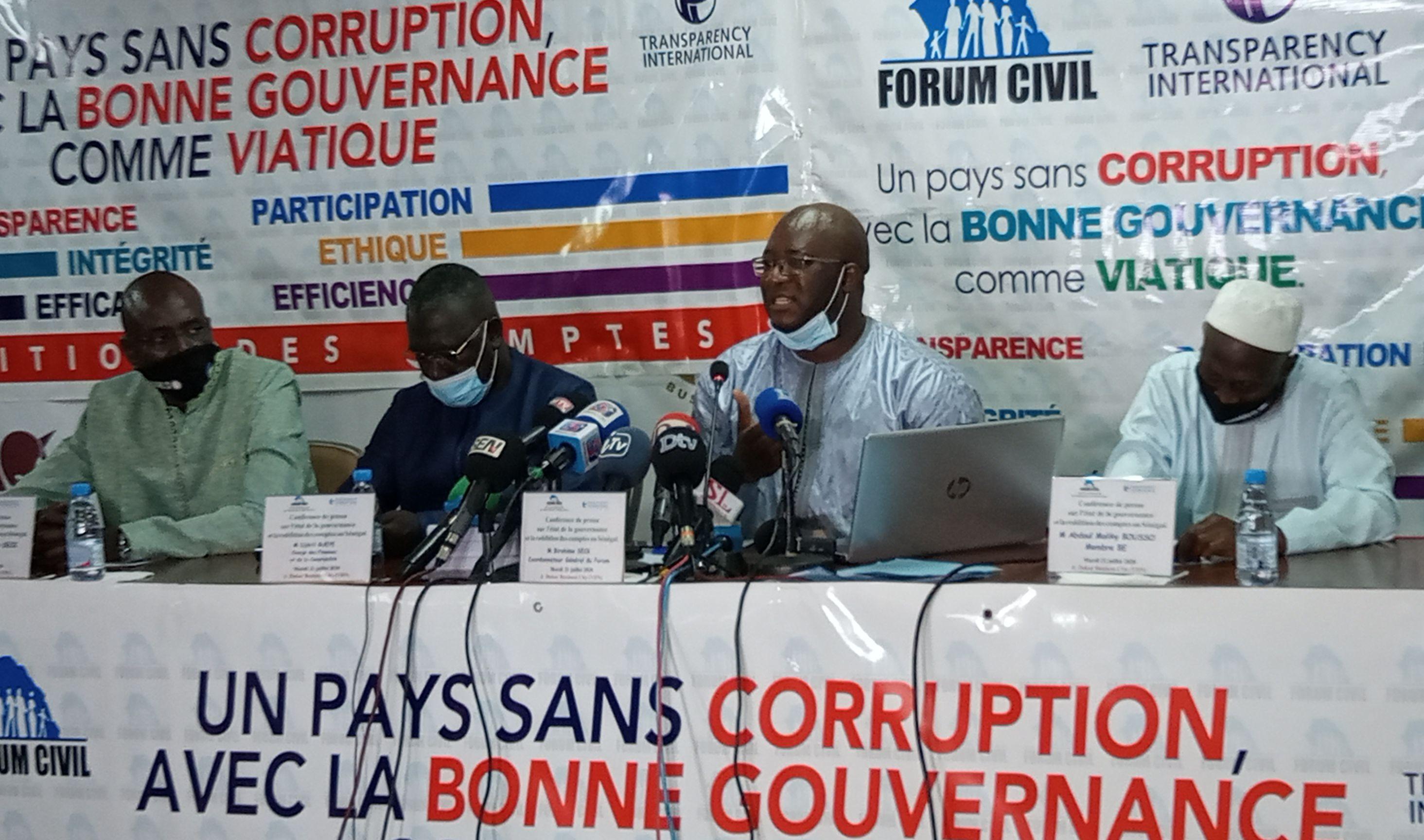 Rapports de l'Ige: le Forum Civil relève de graves violations de la loi par le Vérificateur général