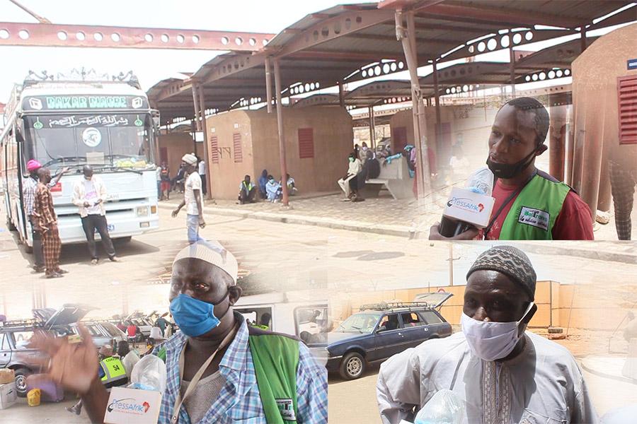 Tabaski: les chauffeurs augmentent illégalement les prix des transports à la Gare des Baux Maraichers de Dakar