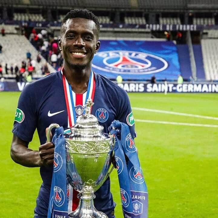 Idrissa Gana Gueye, triple vainqueur avec le PSG
