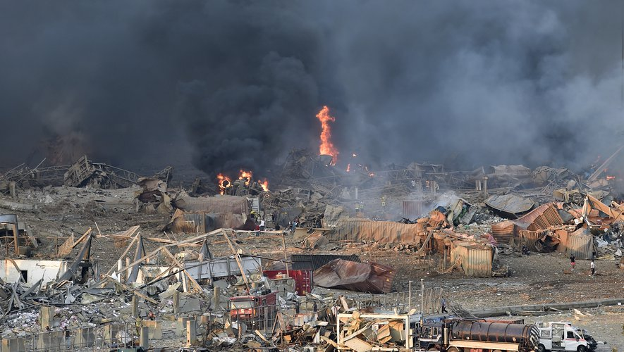 Au moins 50 morts et 2700 blessés dans les explosions au Liban